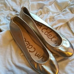 SAM EDELMAN YOU HIT GOLD LEATHER